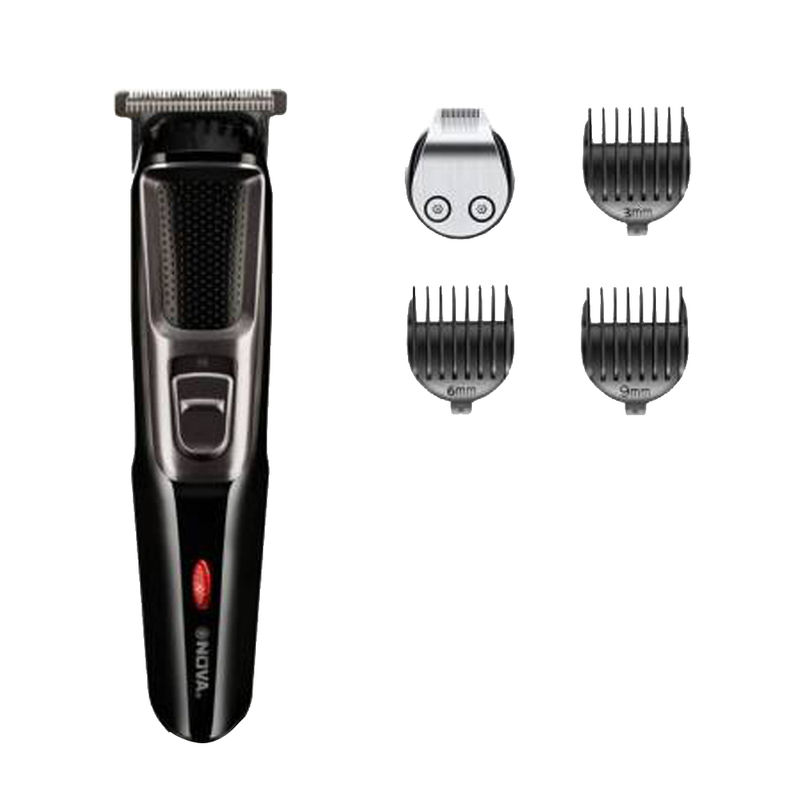 Nova NHT 1077 Trimmer for Men   Black