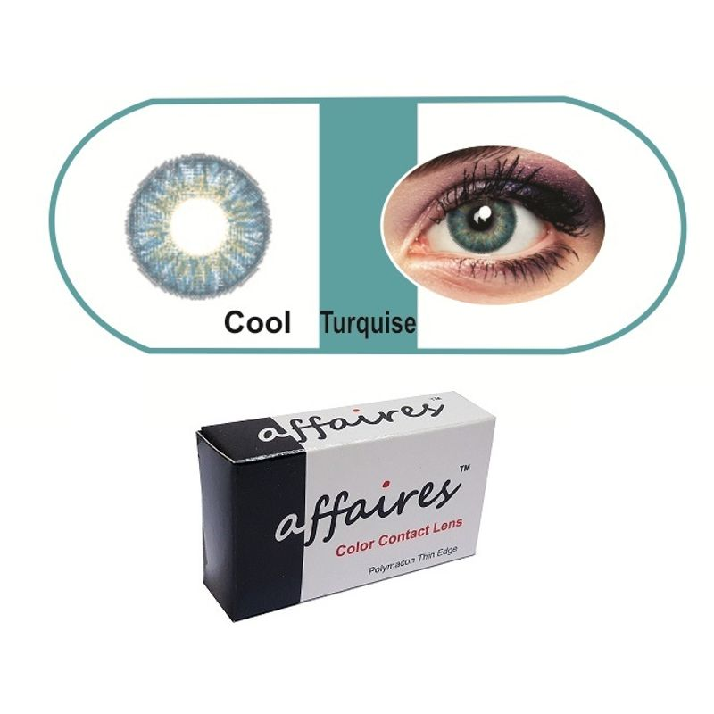66c234f02a Affaires Color Contact Lenses - Cool Turquoise at Nykaa.com
