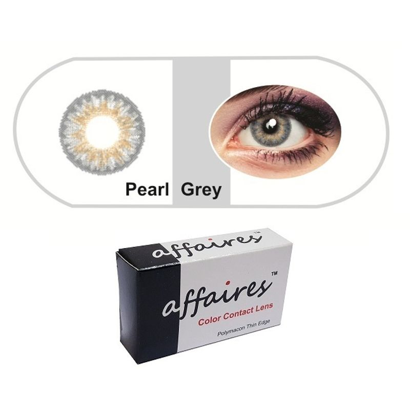 7f1bc92e8ffb Affaires Color Contact Lenses - Pearl Gray at Nykaa.com