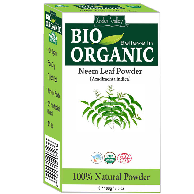 Indus Valley Bio Organic Neem Leaf Powder