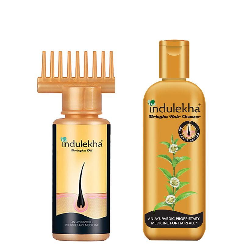 Indulekha Bringha Hair Essential Combo