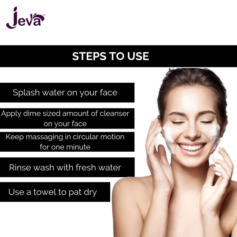 2634a5f5c19 Jeva Activated Charcoal Face Wash With Argan extracts at nykaa.com