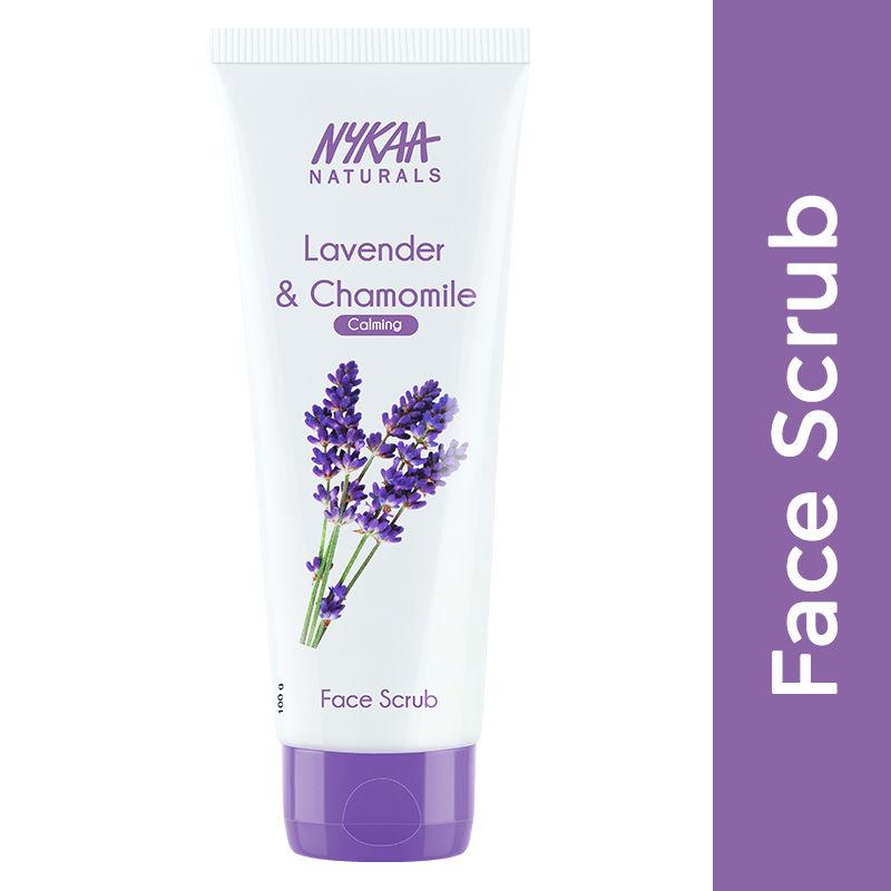 Nykaa Naturals Lavender & Chamomile Face Scrub for Calm Skin