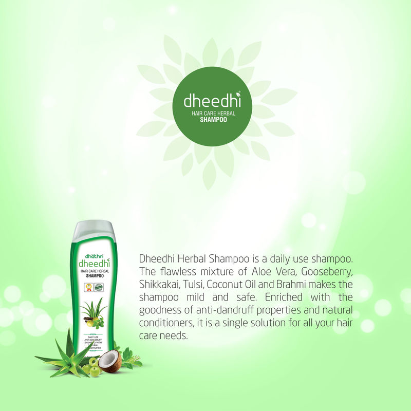 cf8e26a0bebc Dhathri Dheedhi Hair Care Herbal Shampoo