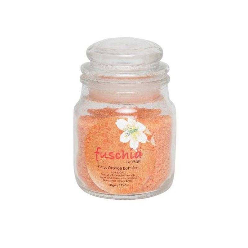 Fuschia Citrus Orange Bath Salt