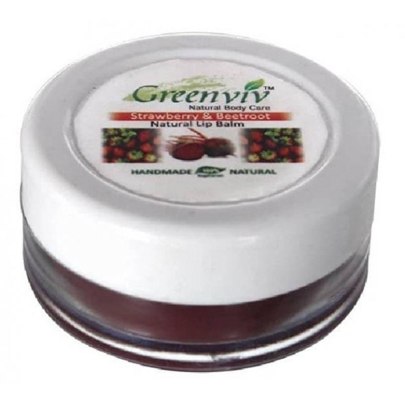 3a2a2e3251191 Greenviv Natural Strawberry & Beetroot Lip Balm(5gm)
