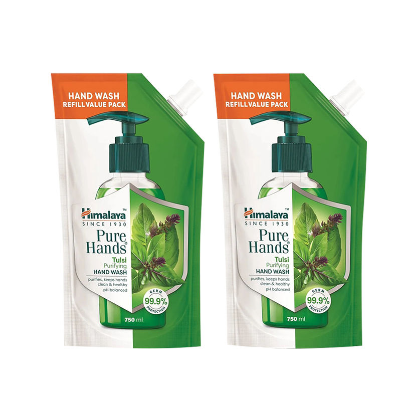 Himalaya Pure Hands Tulsi Hand Wash Pack Of 2