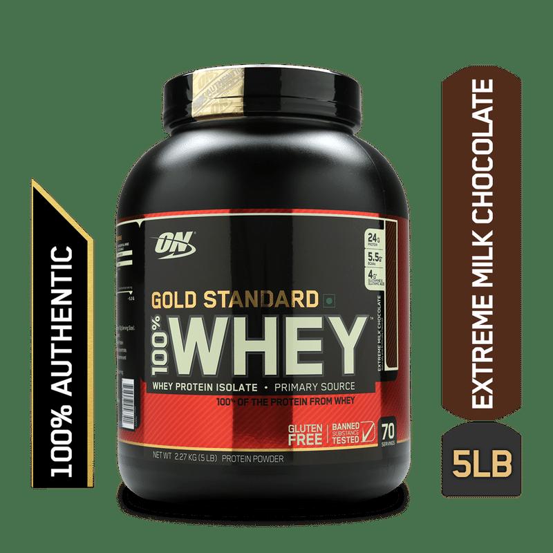 Top 10 Whey Protein 2020.Optimum Nutrition On Gold Standard 100 Whey Protein Extreme Milk Chocolate Powder