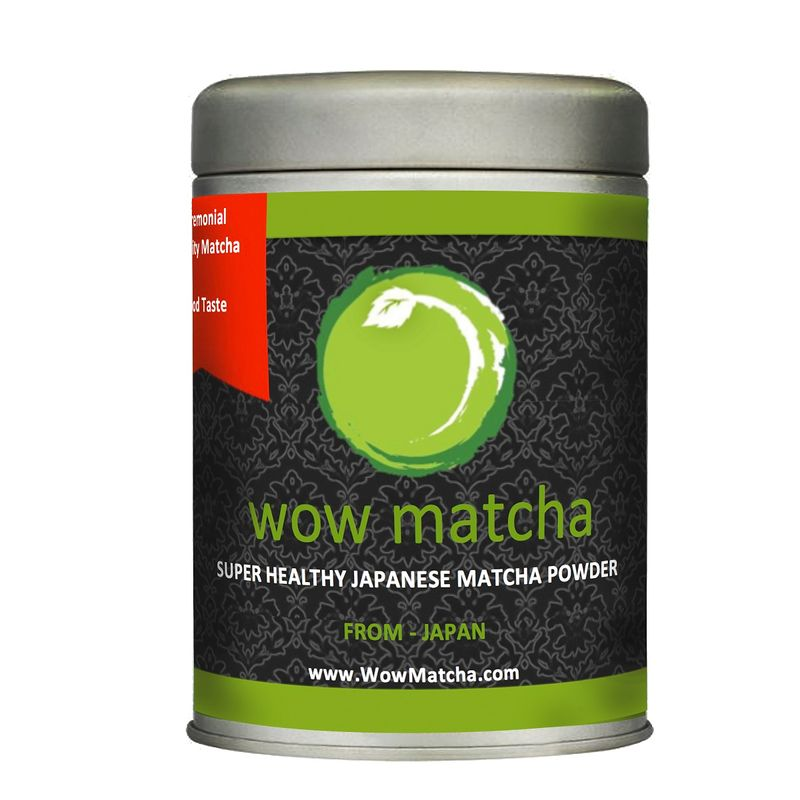 Wow Matcha Japanese Organic Ceremonial Grade Matcha Powder