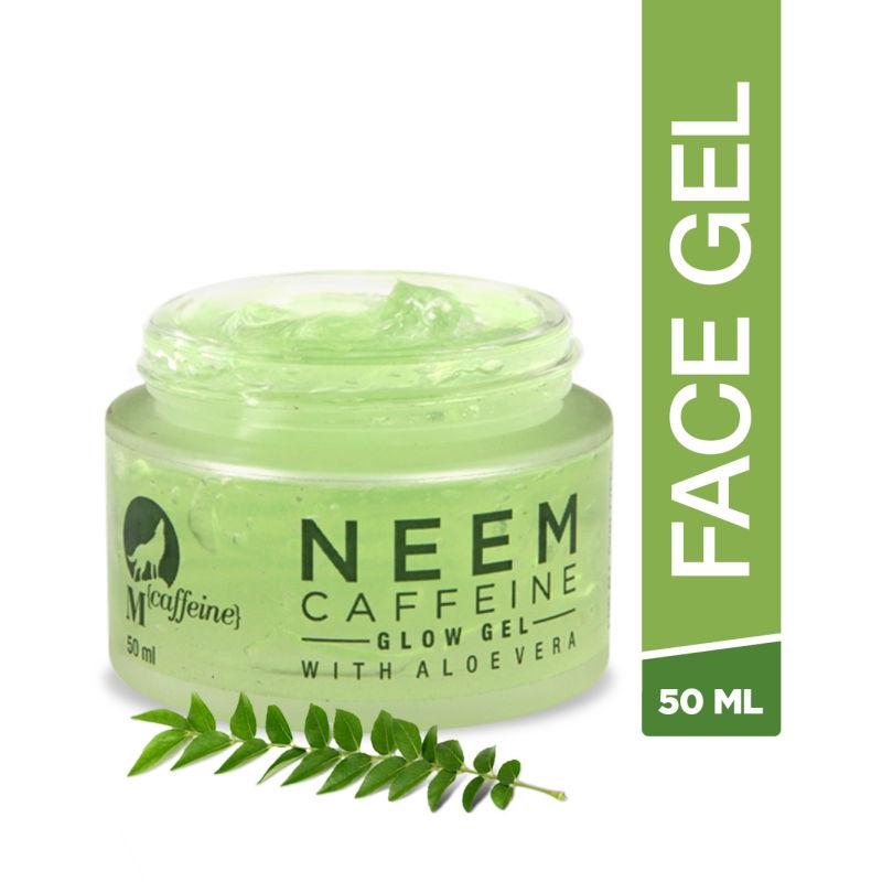 MCaffeine Neem Caffeine Glow Gel With Aloe Vera