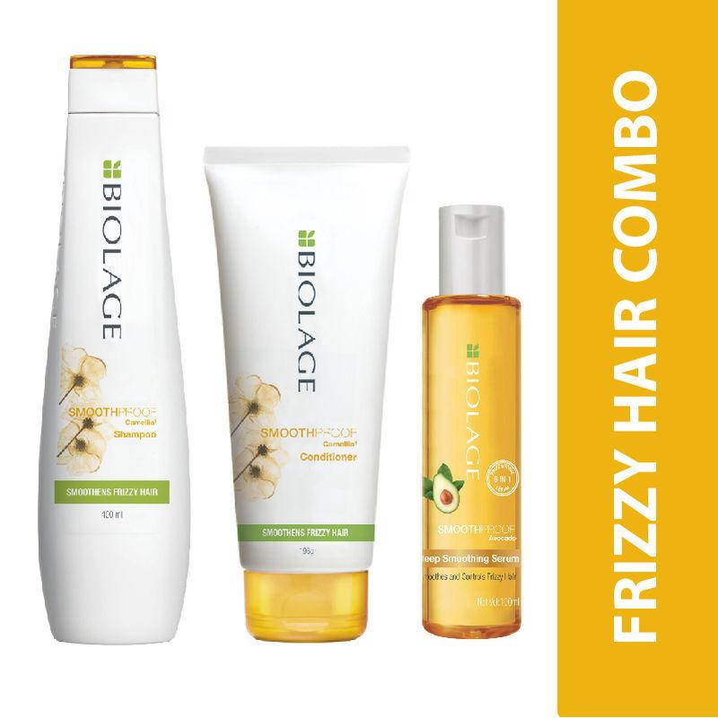 Matrix Biolage Smoothproof Shampoo + Conditioner + Serum