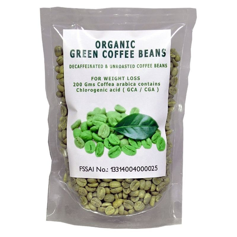 Nutravigour Organic Decaffeinated Green Coffee Beans Buy Online