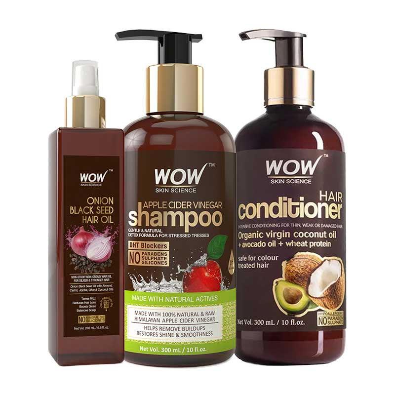 WOW Skin Science Hair Nourishment Combo