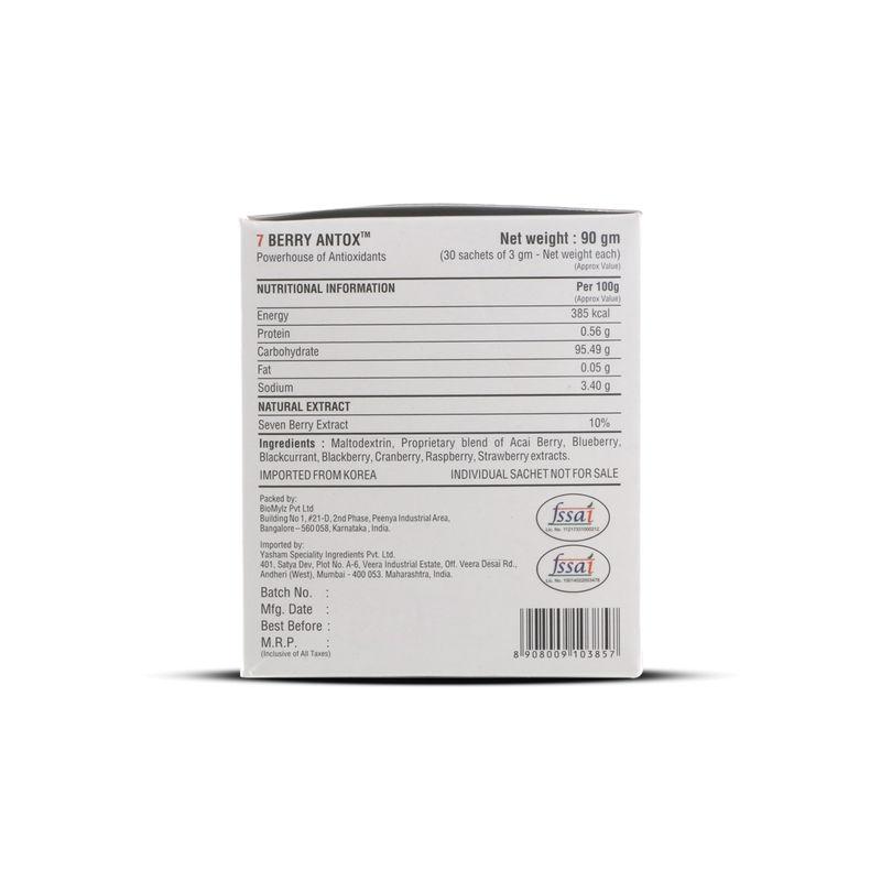 199e14e5589 OneLife Berry Antox Powder 30 Sachets at Nykaa.com