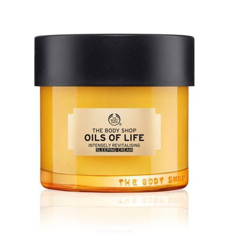 2f5d97f188 The Body Shop Oils Of Life Sleeping Cream at Nykaa.com