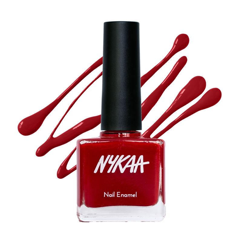 f5fafa333 Nykaa Nail Enamel - Red Velvet 03 at nykaa.com