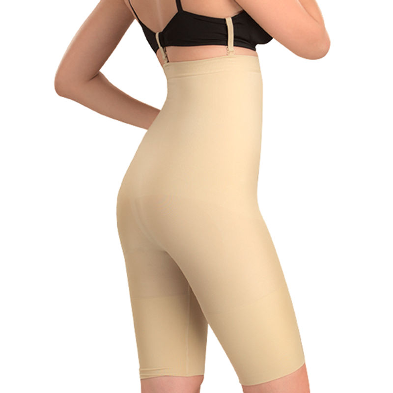 96b16d2eb8a Swee Spark High Waist And Full Thigh Shaper For Women - Nude at Nykaa.com