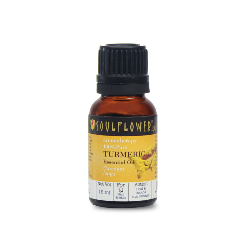 Soulflower Turmeric Essential Oil