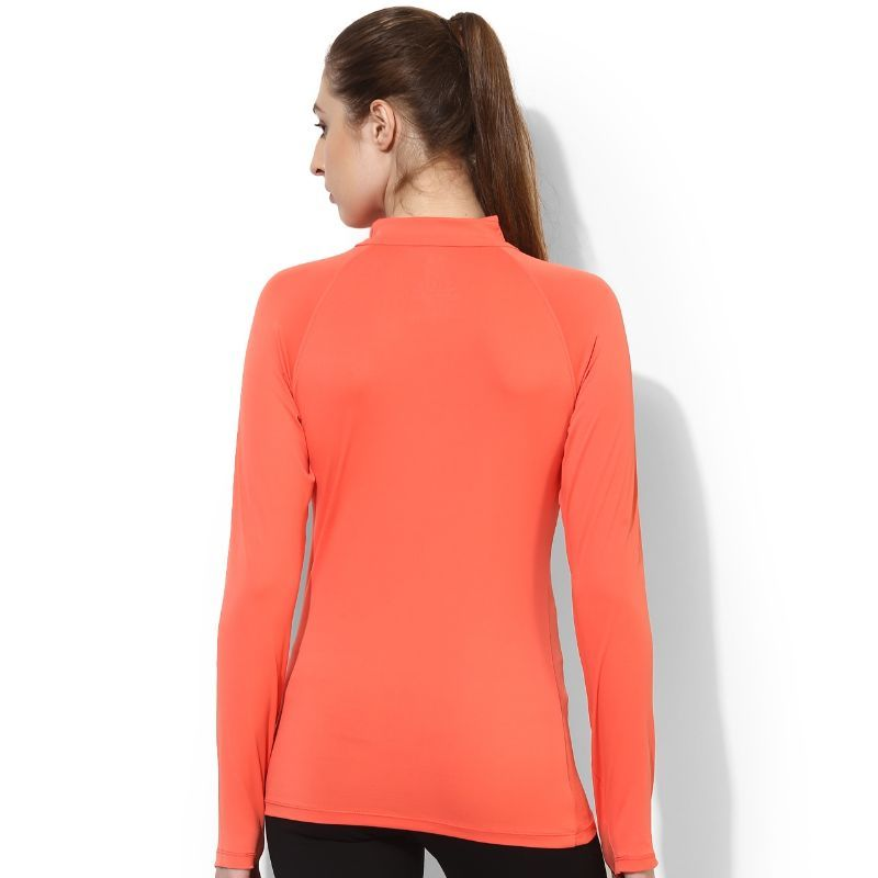 713b42f0 Silvertraq Women's Thumb Hole T-Shirt Live Coral at Nykaa.com