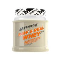Big Muscles Nutrition Raw & Real Whey Protein Unflavoured Powder
