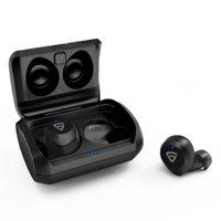 RAEGR Airshots 550 Tws Wireless Earbuds, Bluetooth 5.0 Headphones With Mic Wireless Headset - Black