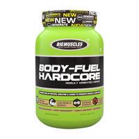 Big Muscles Nutrition Body Fuel Hardcore Malt Chocolate Powder