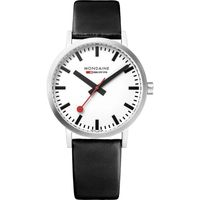 Mondaine Classic Hours Analog Dial Color White Men's Watch- A660.30314.11SBB