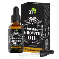 AromaMusk 100% Natural Sandalwood Beard Growth Oil