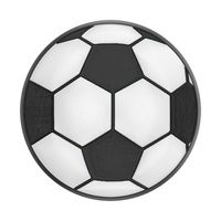 PopSockets Swappable Premium Popgrip- Sports Soccer Ball