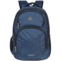 EUME Moon Face 41 Ltr Casual Backpack in Navy Blue