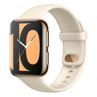 OPPO Health & Fitness Smart Watch 4.6 cm, Heart Rate Monitor Upto 21 Days Battery Life (Gold)