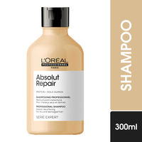 L'Oreal Professionnel Absolut Repair Shampoo with Protein and Gold Quinoa, Serie Expert