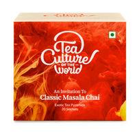 Tea Culture of The World Classic Masala Chai Sachets