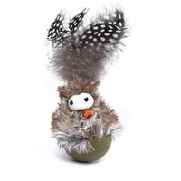 Heads Up For Tails Meow Monsters Birdie Cat Toy