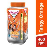 Glucon D Instant Energy Health Drink Tangy Orange - Jar