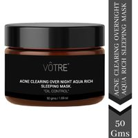 Votre Acne Clearing Over Night Aqua Rich Sleeping Mask Oil Control