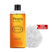 Pears Pure & Gentle Body Wash With Free Loofah