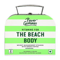 Power Gummies The Beach Body With Green Coffee-Weight Management Gummies Pack of 2