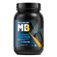 MuscleBlaze Beginner's Whey Protein Supplement - Chocolate