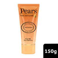 Pears Pure and Gentle Daily Cleansing Facewash Ultra Mild Cleanser with Glycerine