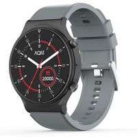 "AQFIT W9 Bluetooth Calling Smartwatch 1.33"" HD IPS Display (Grey)"