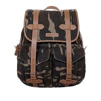 Justanned Men'S Military Print Backpack
