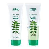 Nykaa Naturals Anti-acne Face Wash + Face Scrub