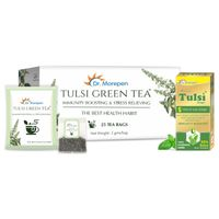 Dr. Morepen Tulsi Drop +tulsi Green Tea Bags Immunity Booster Kit