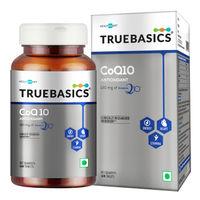 TrueBasics CoQ10 (Coenzyme Q10) Tablets
