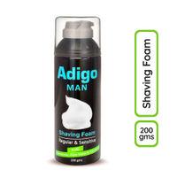 Adigo Man Shaving Foam with Allantoin Aloe Vera & Glycerin