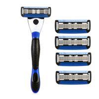 Spruce Shave Club 5X Shave Set (1 Razor + 4 Cartridges)