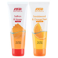Nykaa Naturals Glowing & De-Tan Face Wash Combo (Pack of 2)