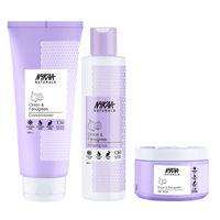 Nykaa Naturals Onion & Fenugreek Shampoo, Conditioner & Hair Mask - Hair Growth Combo
