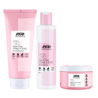 Nykaa Naturals Apple Cider Vinegar & Ginger Shampoo, Conditioner & Hair Mask - Anti Dandruff Combo